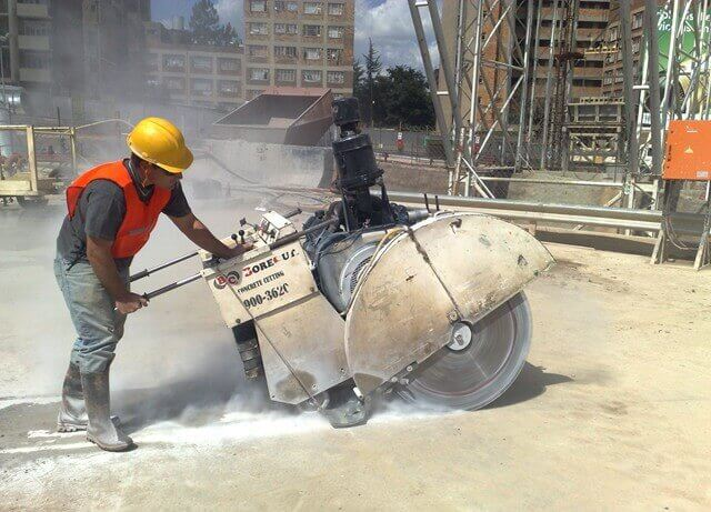 concrete sawing services