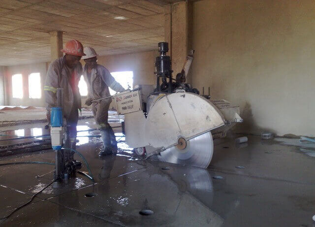 concrete sawing solutions