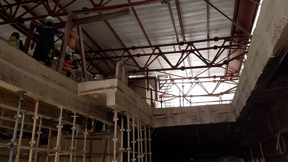 Slab & Beam Cutting Services