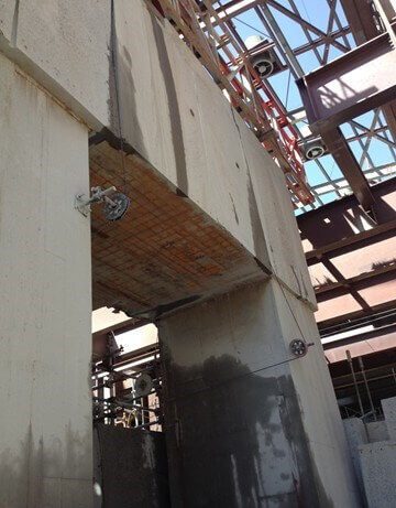 Wire Sawing - Concrete Structure Cutting