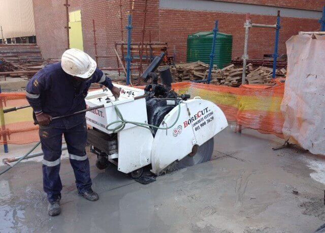 concrete drilling Johannesburg