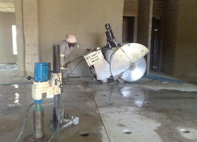 Concrete Sawing Services